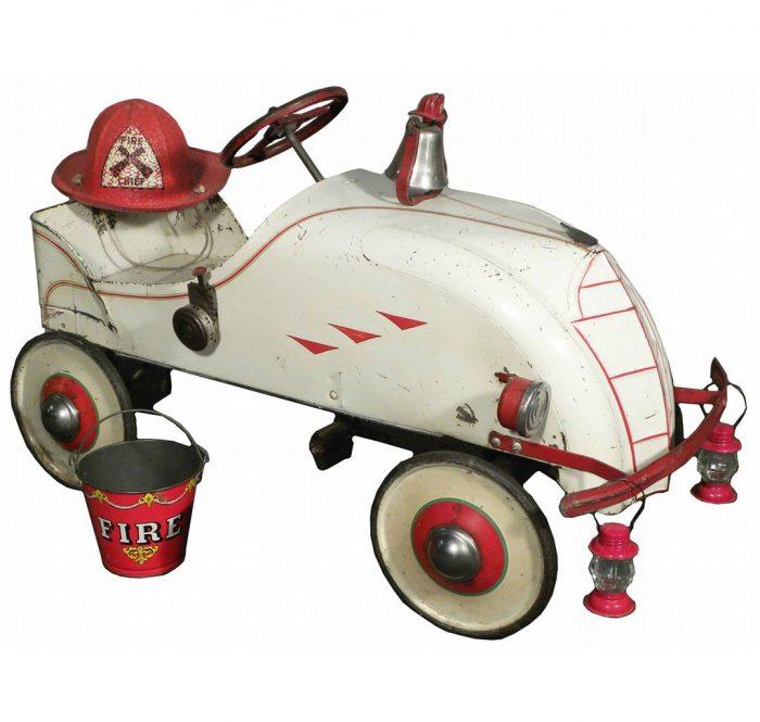 педальная пожарная машинка 1935 года