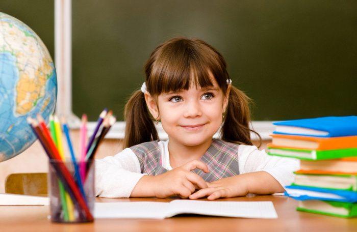 Девочка заинтересована в учёбе