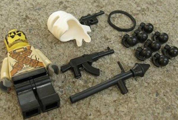 Набор Лего «Террористы»