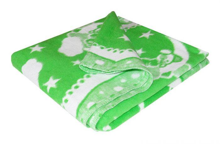 Жаккардовое байковое одеяло