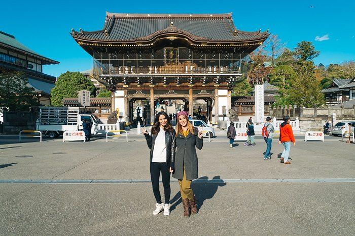 Русские туристки в Японии