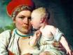 кормилица с ребенком картина