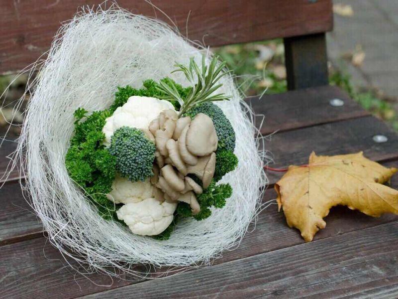 Самые странные и нелепые свадебные букеты: 25 фото