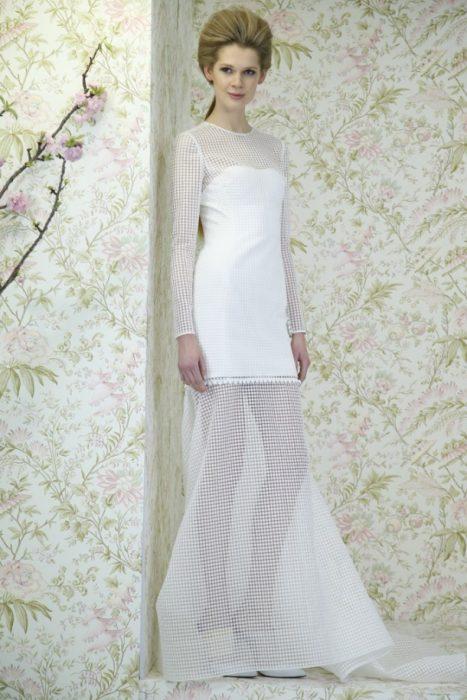 свадебное платье в слиле 50-х