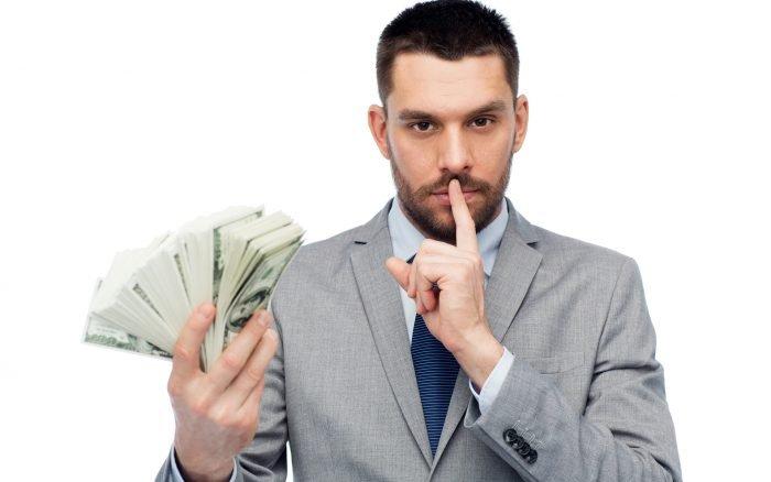 Мужчина с деньгами
