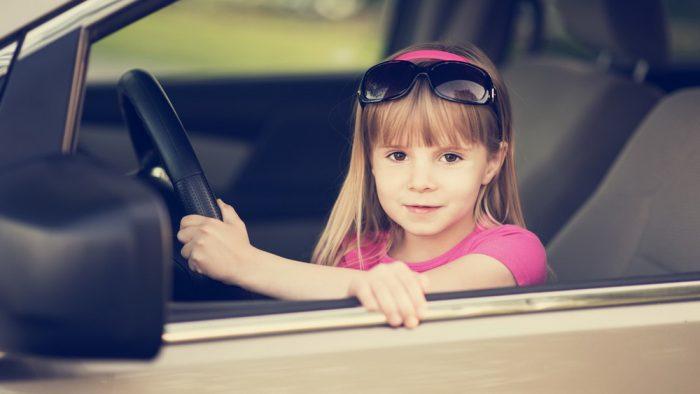 Оставление ребенка одного в машине