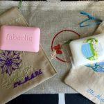 Душистое мыло с тканевыми мешочками
