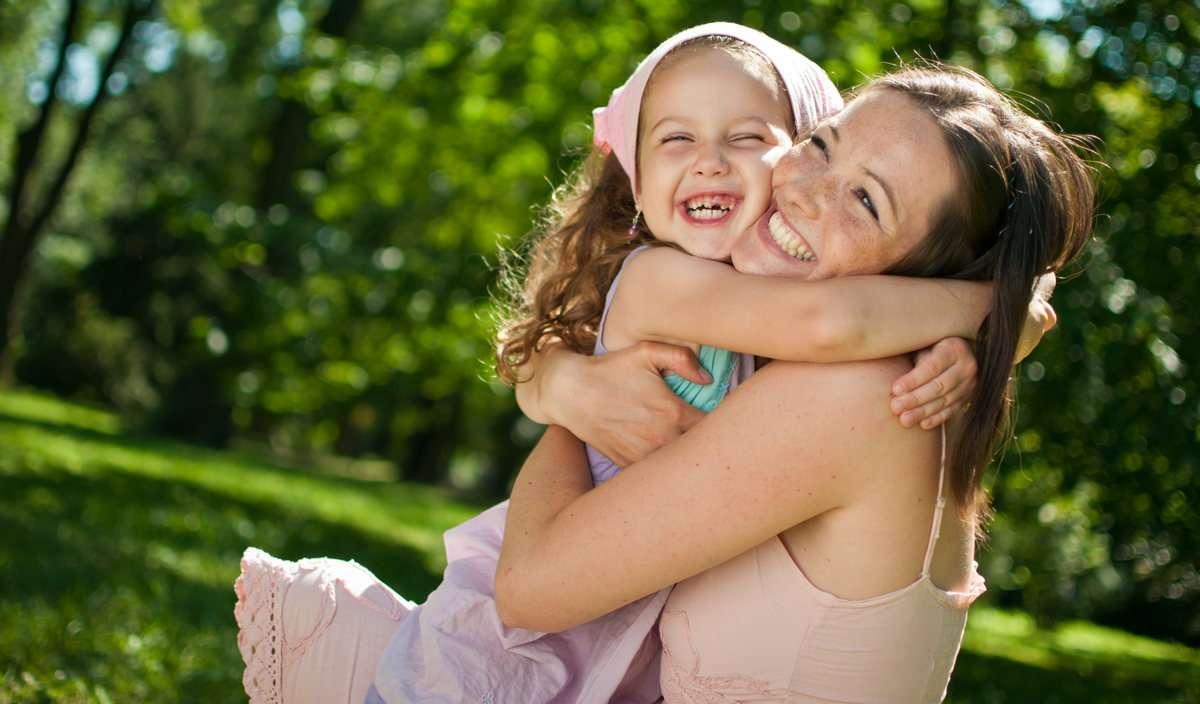 Красивые картинки с мамой и ребенком, утро картинки