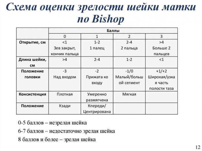 Таблица Бишопа