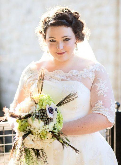 Букет для полной невесты