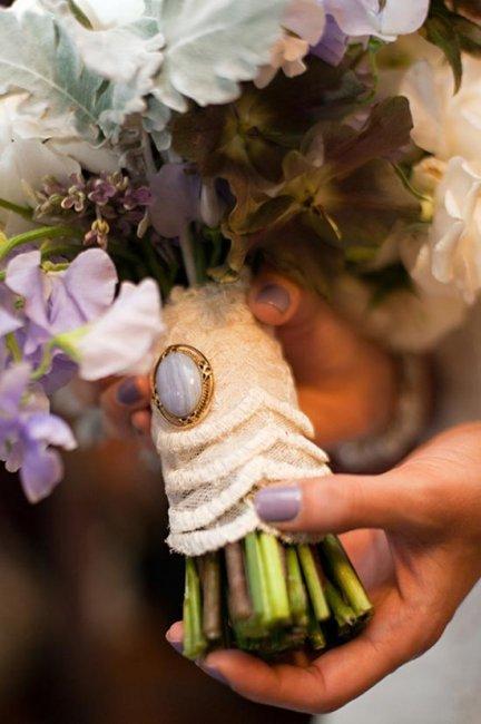 Свадебный букет с талисманом