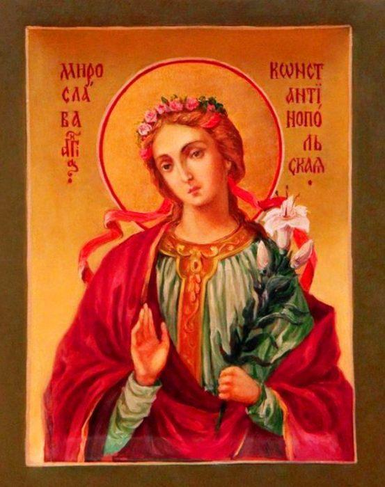 Икона Мирославы Константинопольской