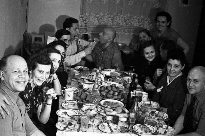 День рождения в советское время