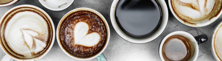 Чашки с кофе