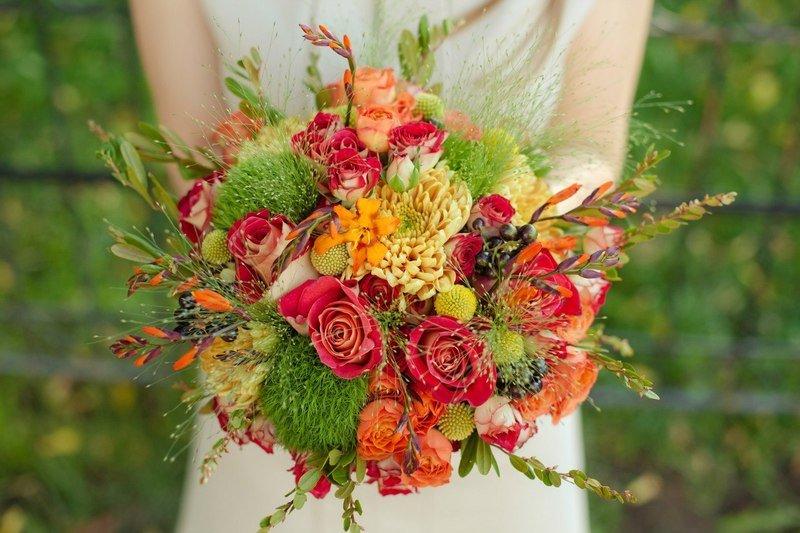 Свадебный букет: что с ним делать после свадьбы?