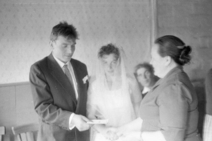 простая советская свадьба