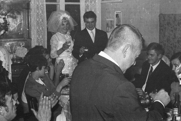 поздравление молодых на советской свадьбе
