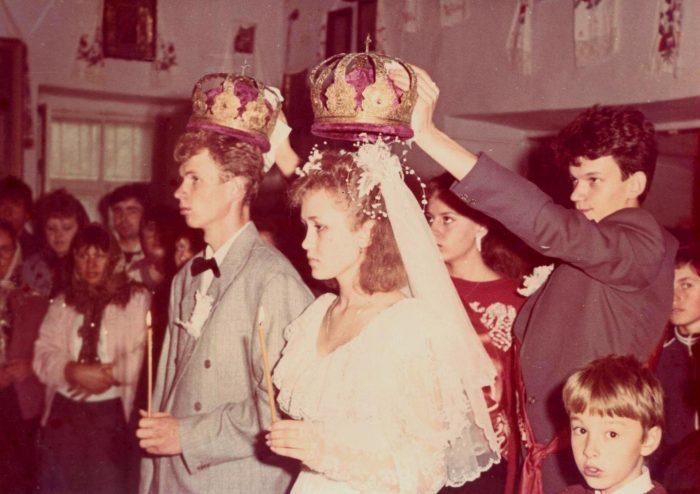 венчание в девяностые