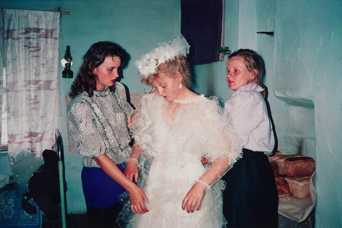 приготовления невесты фото девяностых