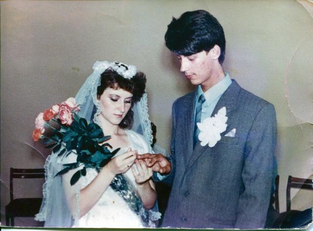 свадьба начала девяностых