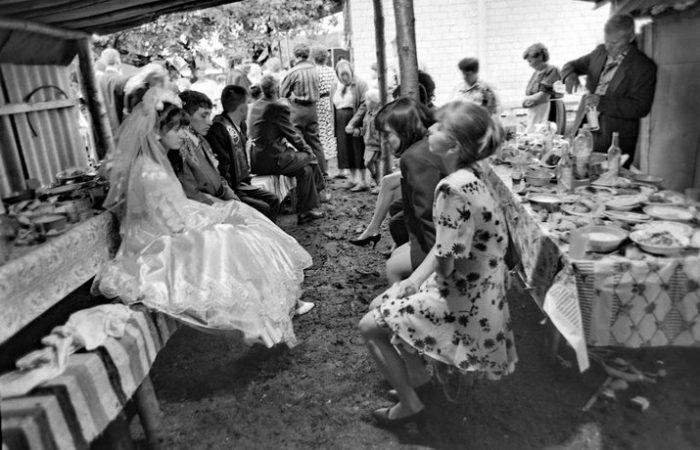 деревенская свадьба девяностых