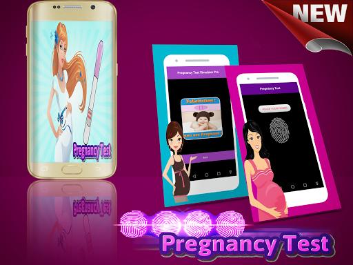 Тест на беременность по отпечатку пальца