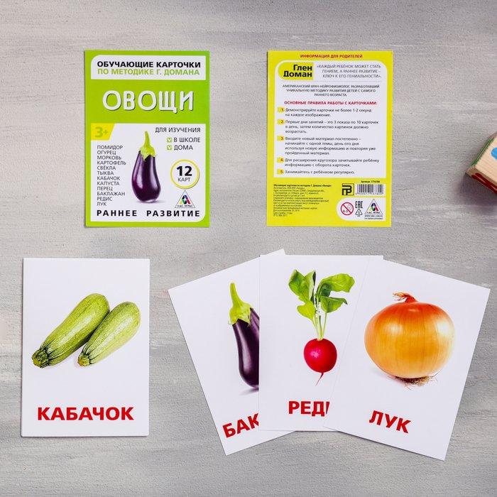 Карточки Домана «Овощи»