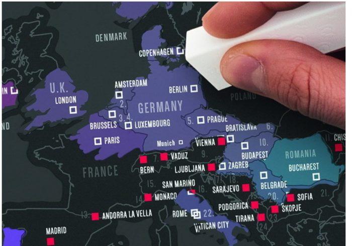 Чёрная карта путешествий