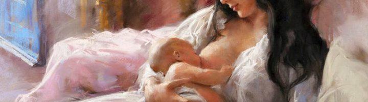 кормление грудью картина