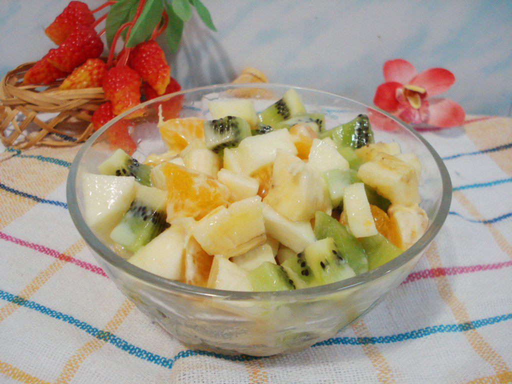 Салаты из фруктов с фото