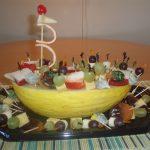 Фруктовый салат «Алые паруса»