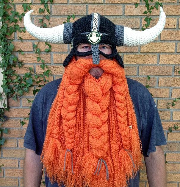 шапка скандинава крючком