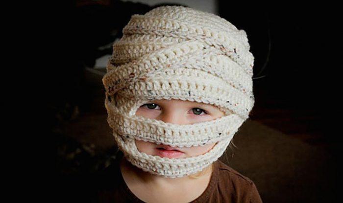 шапочка мумии