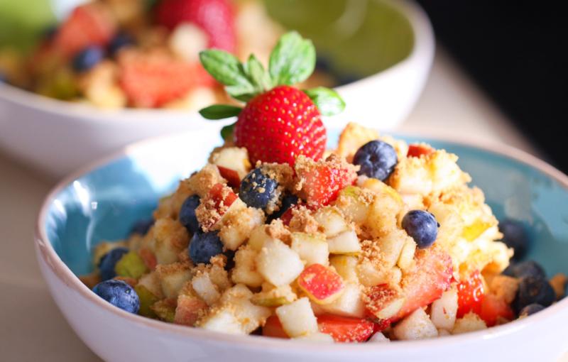 Фруктовые салаты для детей: принципы приготовления и рецепты