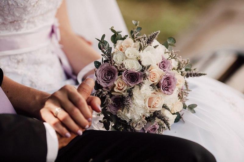 Осенний букет невесты — тренды осени 2019