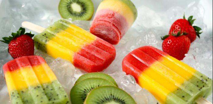 Плодово-ягодное мороженое