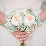Букет-дублёр из белых роз