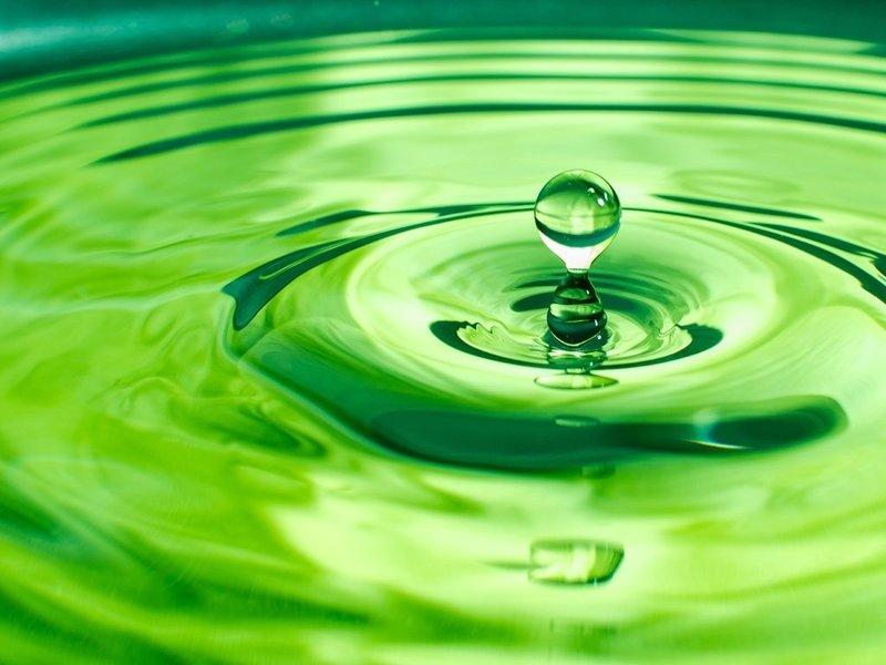 Зеленые воды при родах как выглядят