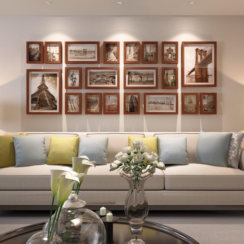 любви верности, оформление стены над диваном в гостиной фото стола