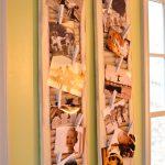 Детские фото на стене