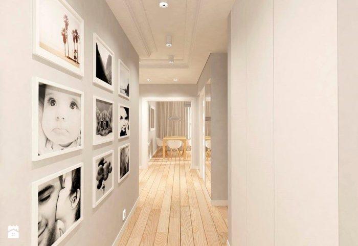 Фотогалерея в коридоре