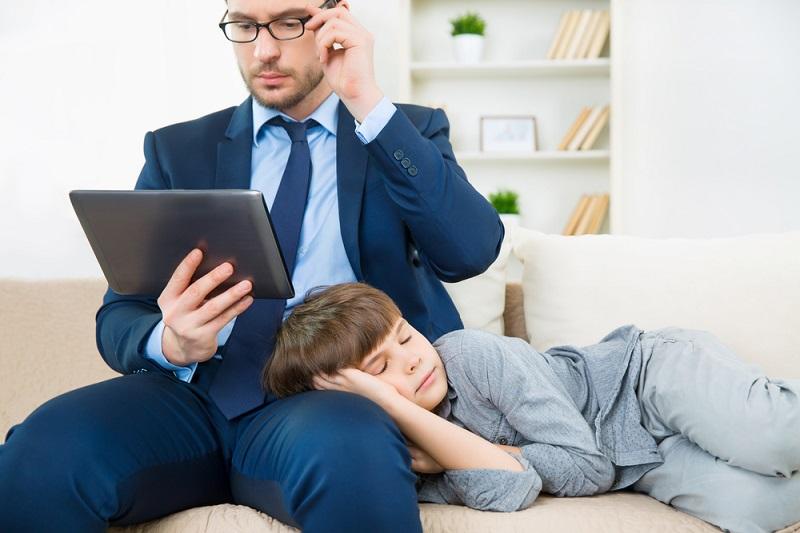 5 идей, как найти время на своего ребенка, даже если его нет
