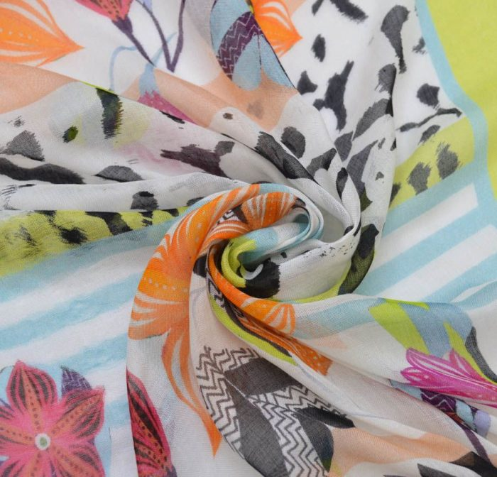 Блузочная ткань из марлёвки