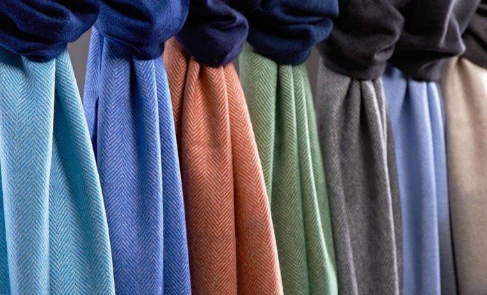Кашемировые ткани