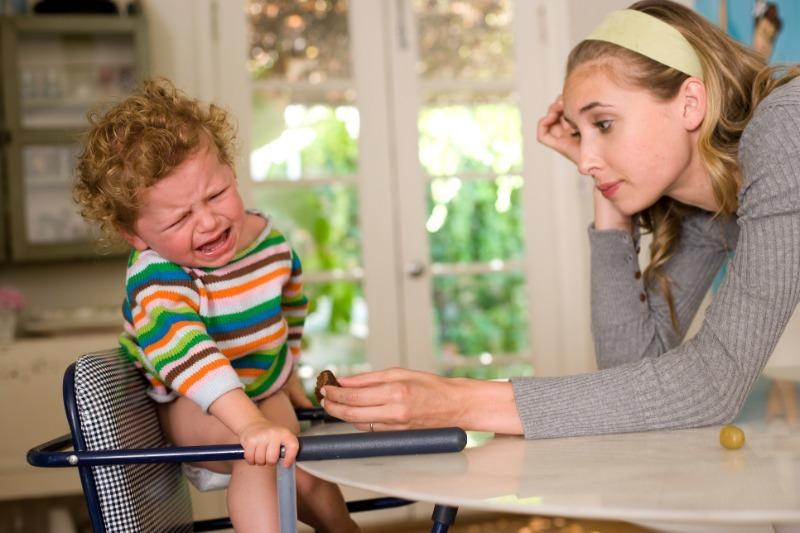 5 признаков того, что вы стали рабой своего собственного ребенка