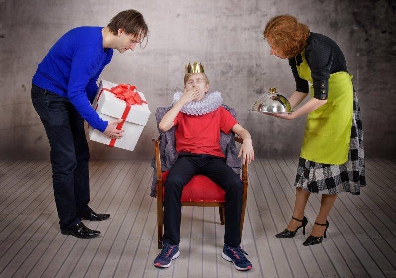 5 признаков того, что ваш ребенок сильно избалован