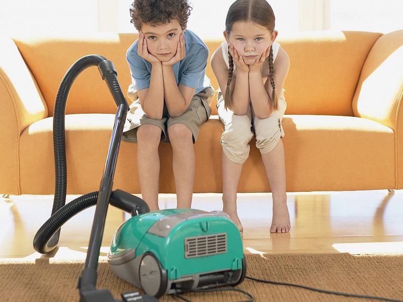 Наказывать работой по дому