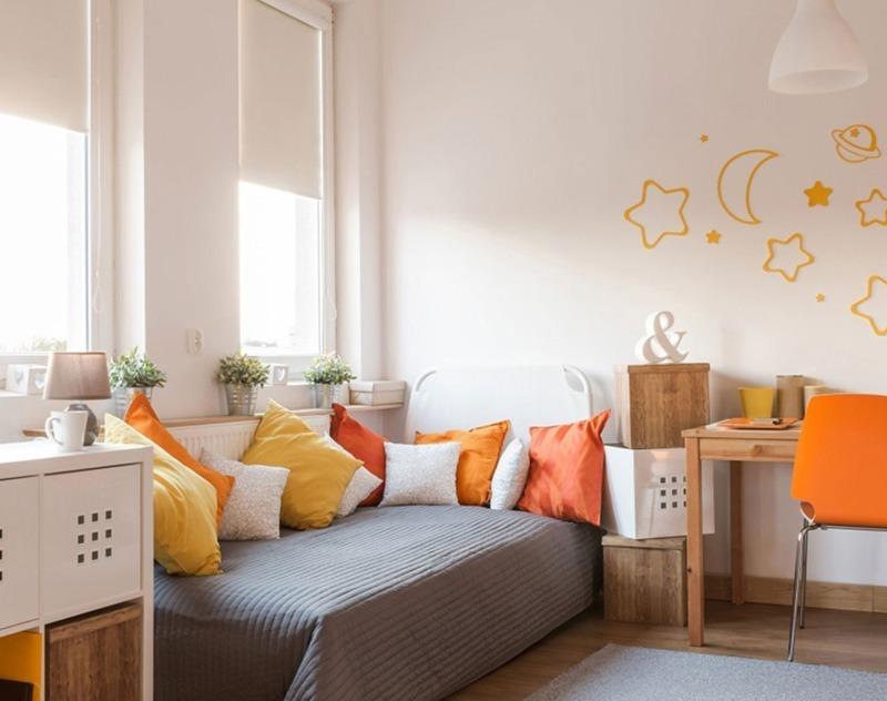 В каком цвете оформить детскую комнату, чтобы ребенок был успешным и счастливым