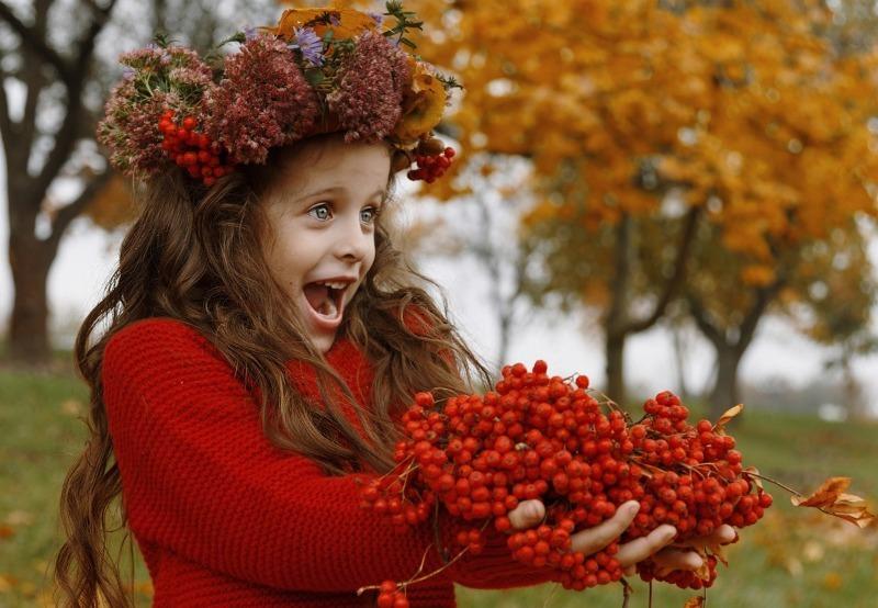 Фото на память: 9 ярких идей для осенней фотосессии с ребенком