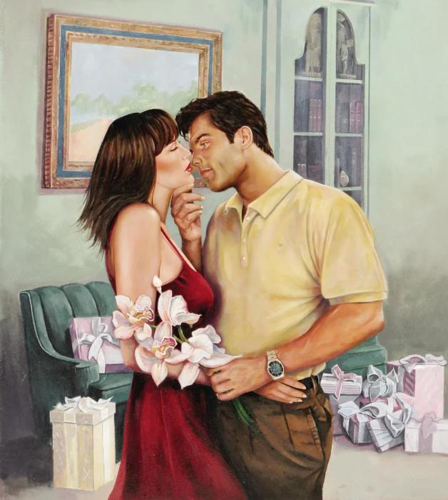 Любящий муж